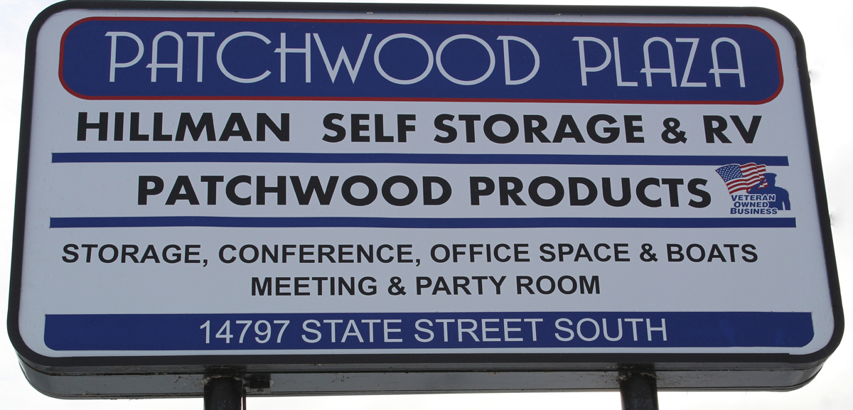 Patchwood Plaza Hillman, MI - Sign